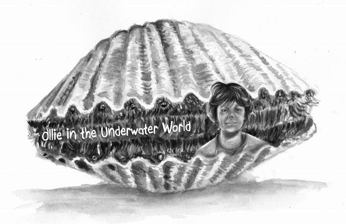 ollie in a scallop