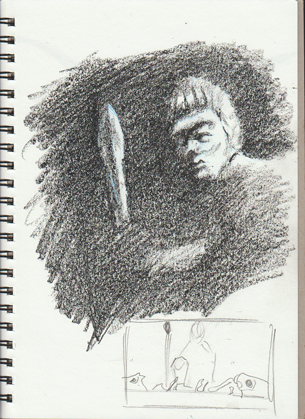 dark drawing
