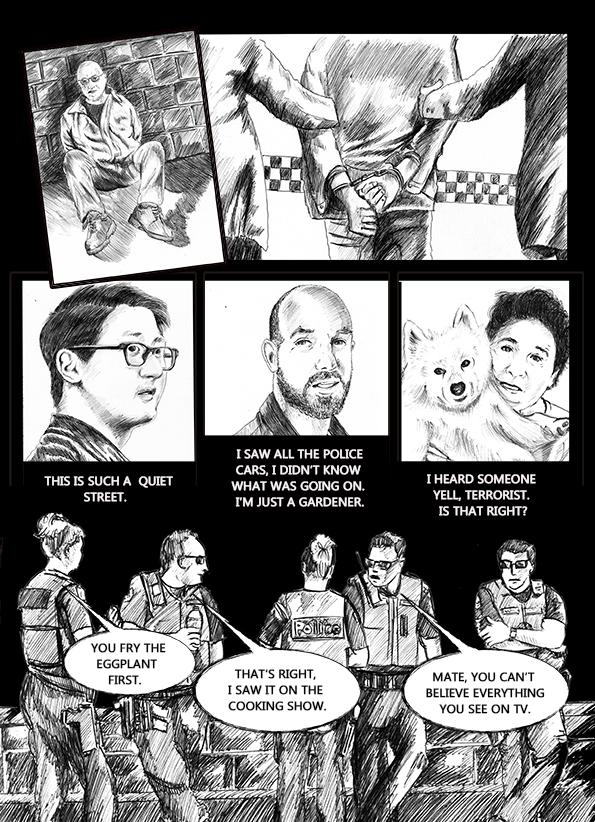 page of arrest